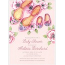Baby Shoes Shower Baby Shower Invitation