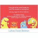 Freaky Fun First Birthday Party Invitation