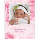 Gift of God in Pink Baptism Invitation