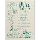 Jungle Baby Baby Shower Invitation