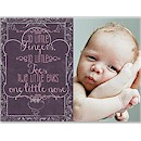 Little Fingers Little Toes Birth Announcement