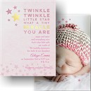 Miracle Twinkle Birth Announcement