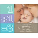 New Math Birth Announcement Magnet