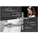 Precious Cross First Communion Invitation