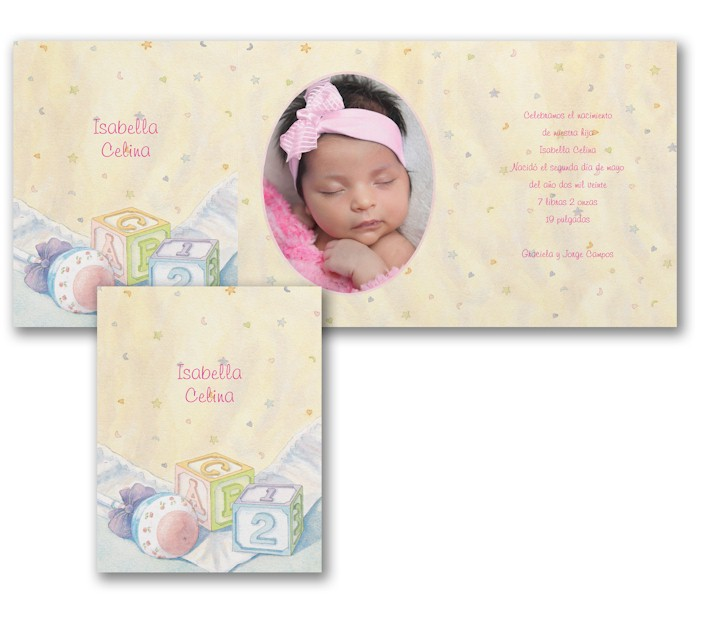 Newborn Celebrations Birth Announcement