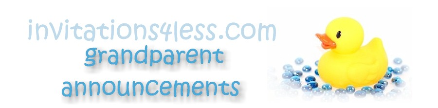 Grandparent Announcements Sample Wording